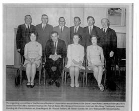 Renmore Residents Assoication 1970